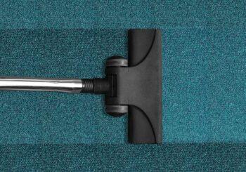 Higienização de tapete